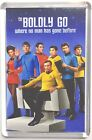 Star Trek Captain Kirk Bones Spock movie poster Fridge Magnet & Keyring #1 on eBay