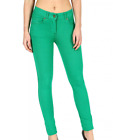 Parsa Fashions ® Ladies Skinny Fit Coloured Jeggings Womens Strechy Pants (UK 8-
