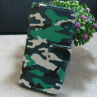 Camouflage Wallet Card Slots Holder flip case cover for Various Mobile phone