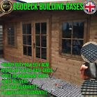 SHED BASE PLASTIC GRAVEL BASES / GREENHOUSE FOUNDATION GRID 7 FEET FOOT GRIDS