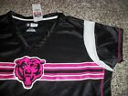 CHICAGO BEARS New NWT Womens Jersey Black Pink SMALL MEDIUM LARGE XL $27.95 USD on eBay