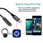 USB C to 3.5mm Jack Adapter Hi-Res Digital DAC Audio Headphone Earphone Cable
