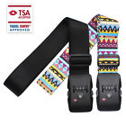 Luggage Straps Adjustable Belt with TSA Lock Belts Travel Accessories Bag Straps