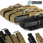 [MOLLE] Single/Triple .22 P5 9mm Ammo Tactical Pistol Mag Pouch Magazine Flap