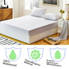 Waterproof Bedspread Antiskid Mattress Pad Protector Bed Fitted Sheet Cover image