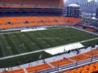 (4) Steelers vs Browns Tickets Upper Level 10 Yard Line Aisle Seats!!