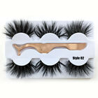Wispy Fluffy Luxury 25mm Lashes Dramatic Long False Eyealshes 100% 6D Mink Hair