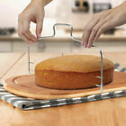 1/2/5X Adjustable Double Wire Stainless Steel Cake Slicer Baking Leveler Cutter