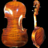 More images of Strad style SONG Maestro carving scroll 5 strings violin 4 / 4,powerful sound#8110
