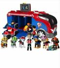 Paw Patrol dog Sliding team big truck toy music rescue team Toy Patrulla Canina