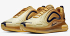 Nike Air Max 720 # AO2924 700 Wheat Club Gold Black Men SZ 8 - 13