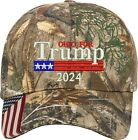 Ohio for Trump US Flag 2020 Gift One Size Fits All Embroidered Hat