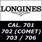Longines cal 701 / 702 (Comet) / 703 / 706 watch movement parts image