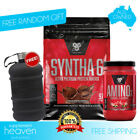 BSN Syntha 6 10lb + BSN Amino X 30 Serve 4.5kg WPI WPC Protein Powder Isolate