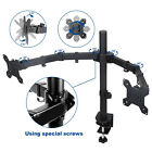 New Single /Dual Arm Monitor Desk Mount Computer TV Screen Bracket Stand 13-27''