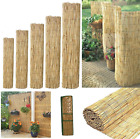 Natural Peeled Reed Fence Garden Privacy Fence Wind Break Screening Wall 4m Roll