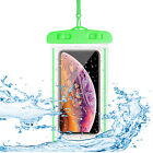 Floating Luminous Glow Waterproof Case Phone Pouch Clear Dry Bag For Cell Phone