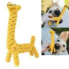 Giraffe/Duck Braided Cotton Rope Pet Dog Toys for Dogs Chews Bite Training Play