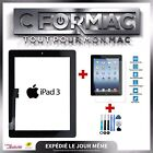 Kit Touchscreen Glass Complete IPAD 2 Noir + Tools + Joint + Tempered Glass