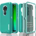 Moto G7 / PLUS Case COVRWAE Dual 3 layer Armor Cover Screen Protector Shockproof