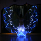 Belly Dance Costume 360  LED Light Isis Wings Sticks 12 Angle Star LED Wings