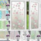 Waterproof Frosted Opaque Adhesive Glass Stickers Decor Window Film Privacy
