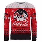 New Coca-Cola Coca-Cola Santa Christmas Jumper Red By OZSALE $34.99  on eBay