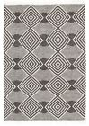 Modern Cottage Design Othmakus Wool Cotton Flatweave Floor Area Rug Charcoal
