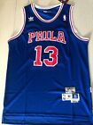 Wilt Chamberlain 13 Philadelphia 76ers Swingman Throwback Jersey Blue Size S-XXL on eBay