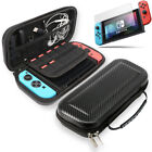 For Nintendo Switch Carrying Case Hard Portable Pouch Travel+ Screen Protector🔴