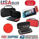 For Nintendo Switch Carrying Case Hard Portable Pouch Travel+ Screen Protector