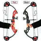 "US Compound Bow Set with Arrows Fit Archery Hunting Bow 15-29Lbs 19""-28"" Teens"