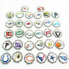 20pcs American Football Sports Glass Dangle Pendant Necklace Fans Jewelry Charms on eBay