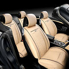 All 5-seats Car Seat Cover 3D Surround Chair Cushion PU Leather Pad 4 Colors PGS on eBay