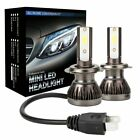 2x H1 H7 H8 9005 9006 8000lm Car Led Headlight Bulbs Kit 6000k Canbus Error Free