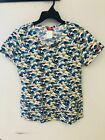 "Dickies EDS ""CANDID CAMO"" Women's Scrubs Top DK707X14 CACM SIZE SMALL (D1)"