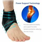Adjustable Sports Elastic Ankle Brace Support Basketball Protector Foot Wrap US $7.05 USD on eBay