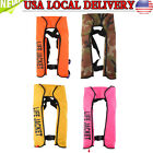 Kyпить New Adult Automatic Inflation Life Jacket Manual Inflatable 150N PFD Survival US на еВаy.соm