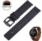 22MM Leather Watchband Quick Release Strap Wrist For Fossil Q explorist gen 3 /4 image