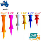 Golf Plastic Tees Step Castle Tee 50Pack 100Pack Different Sizes Indoor Outdoor