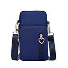 Women Small Cross-body Cell Phone Case Shoulder Bag Pouch Handbag Purse Wallet <br/> ✔✔Canadian Stock✔✔Fits all cell phones✔✔24H Dispatch✔✔