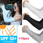 Kyпить 5Pair Cooling UV Sun Protection Arm Sleeves Armband Cover Stretch Sport Outdoor на еВаy.соm