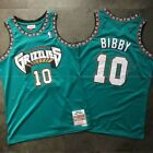 Vancouver Grizzlies #10 Mike Bibby Hardwood Classics Jersey Stitched on eBay