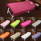 Beauty Massage Bed Table Elastic Cover Salon Spa Couch Cotton Sheet Breath Hole image