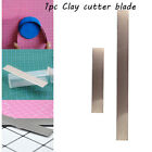 Fabric Art Sculpting Fimo Slicer Clay Cutter Blade Polymer Stainless Steel image