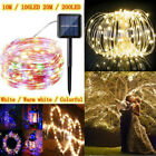 100-200 LED Solar Power Fairy Lights String Lamps Party Home Deco Garden Outdoor