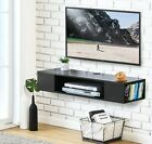 Wall Mount Media Console,Floating TV Stand Component Shelves