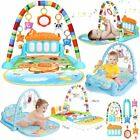 4 in 1 Baby Gym Floor Play Mat Musical Activity Center Kick...
