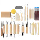 45Pcs Clay Sculpting Set Wax Carving Pottery Tools Shapers Polymer Modeling New image