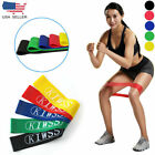 16Pcs Heavy Duty Resistance Band Loop Exercise Yoga Power Gym Fitness US Ship image
